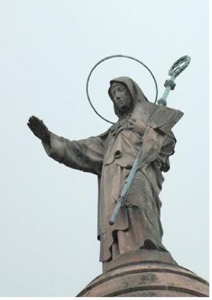 Un hommage à Sainte Odile